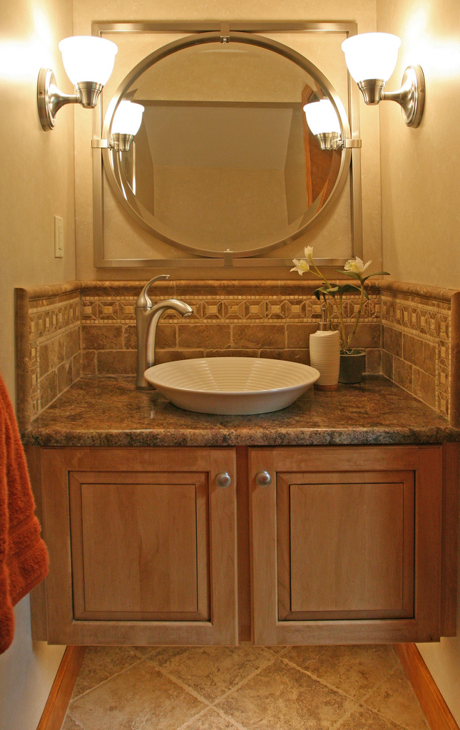 brown-granite-with-vessel-sink
