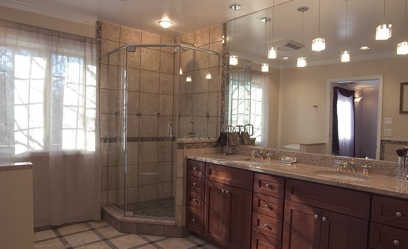 brown-mission-cabinets-withtan-granite-2