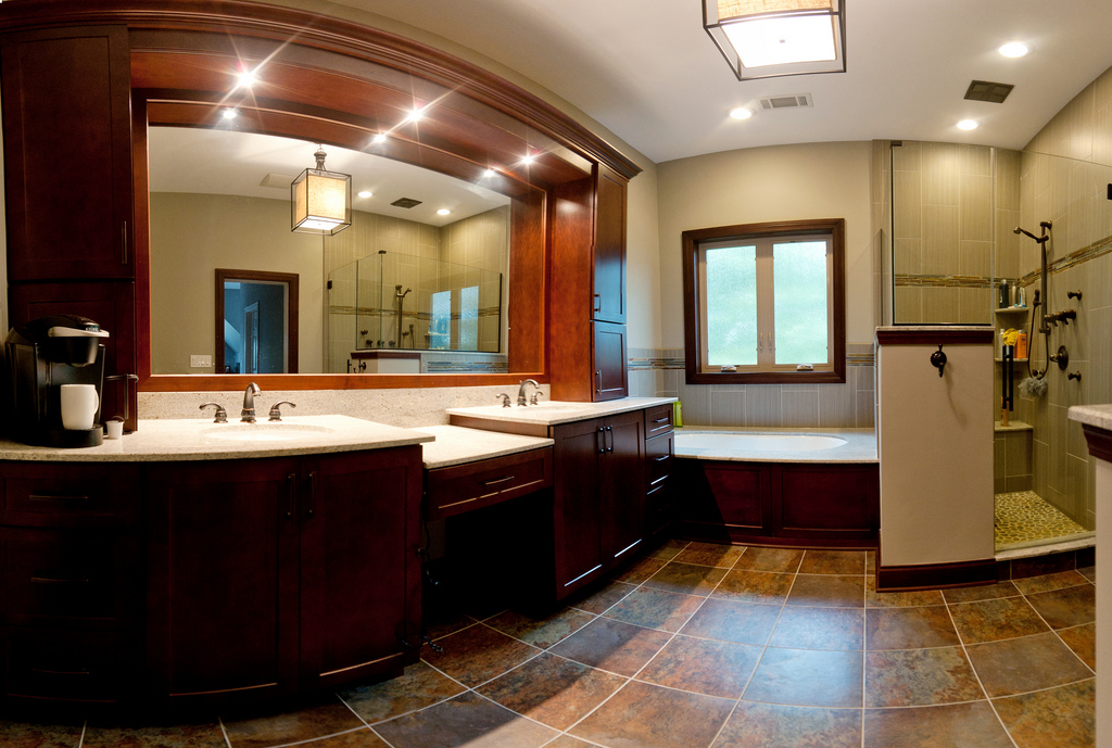 ivory-granite-on-brown-mission-cabinets