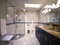 gray-porcelain-tile-with-tan-granite