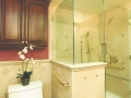 travertine-shower