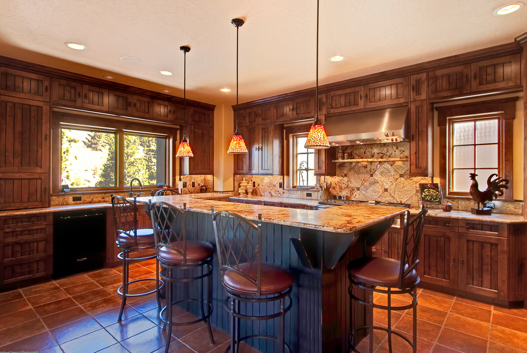 rustic-mission-style-kitchen