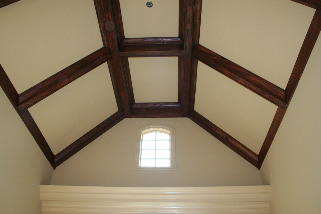Design of ceiling joy studio design gallery best design for Coffered cathedral ceiling
